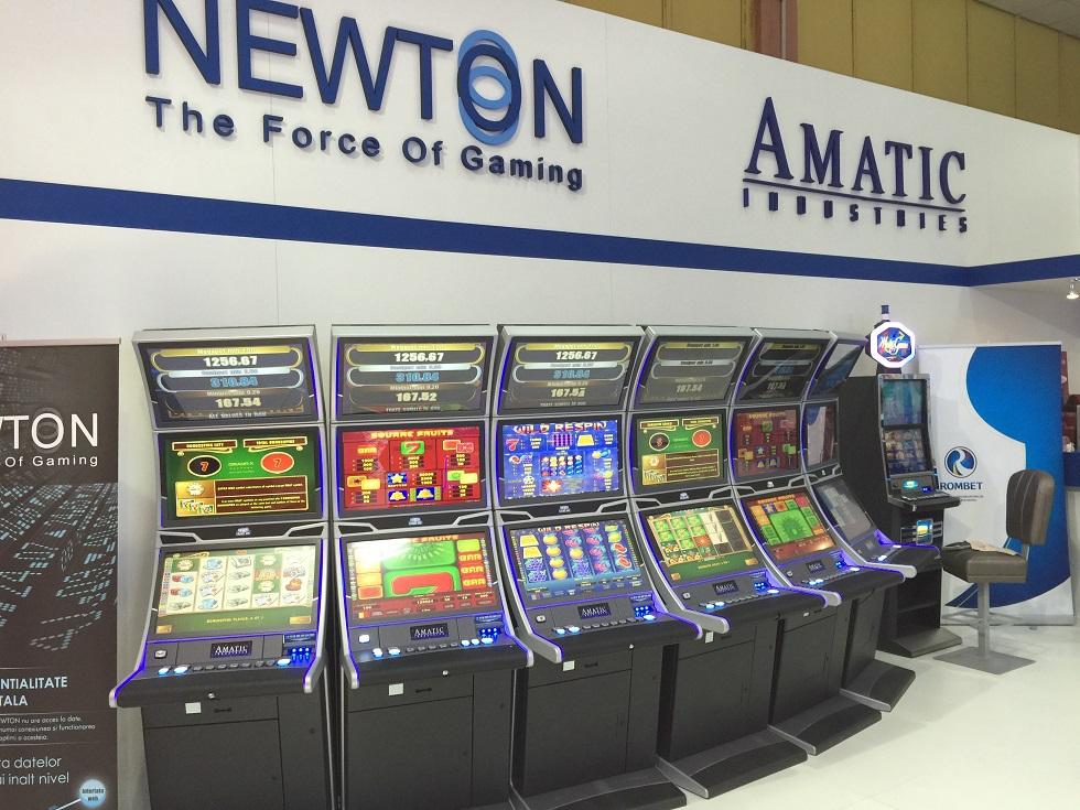 Newton slots romania