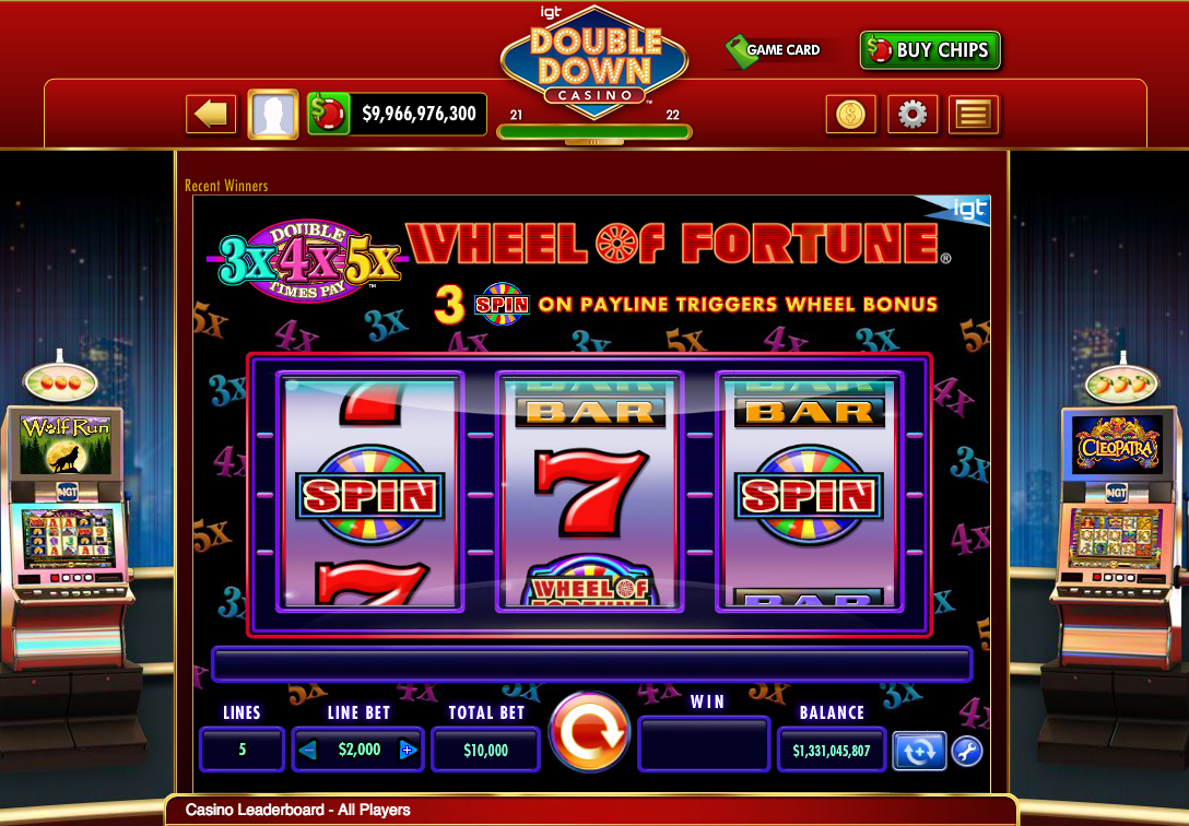 Double down slot machine casino free play slots no deposit