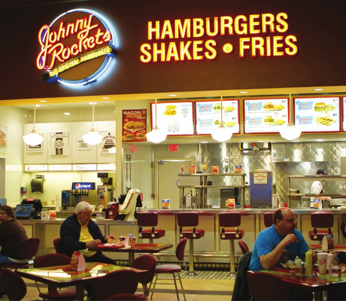 Johnny rockets sweet potato fries calories