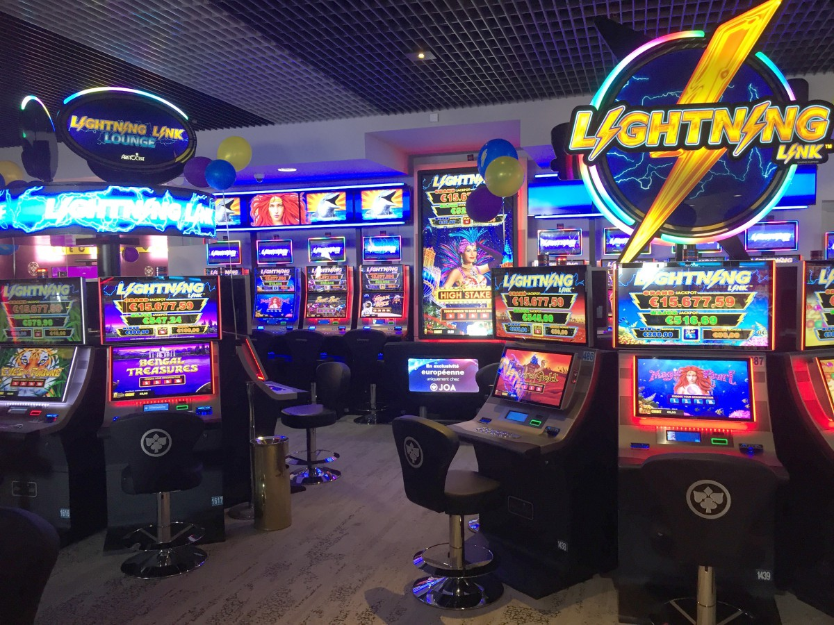 New Lightning Link Lounge Plays Central Role In Joa Royal Casino Cannes Mandelieu Redesign Casino Life Magazine