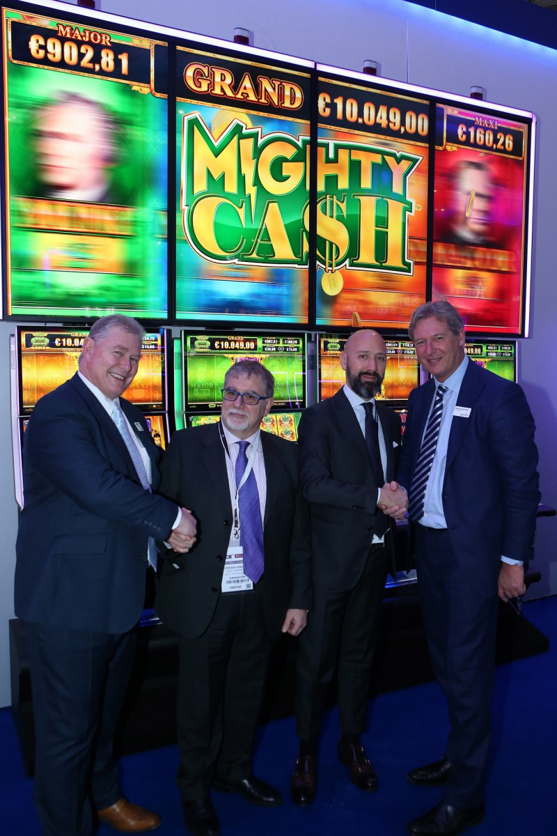 Casino Di Venezia Hosts European Premiere Of Aristocrat S Innovative Helix Tower Casino Life Magazine