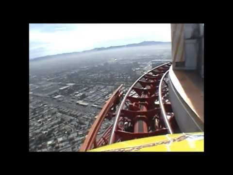 Embedded thumbnail for Justhrillrides The Strat Las Vegas Roller Coaster Ride